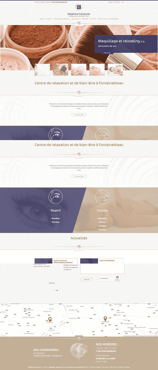 Webdesign Delphine Couturier