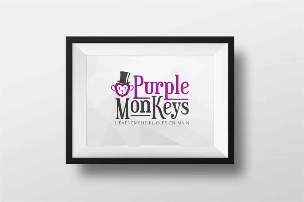 Logo Purple Monkeys