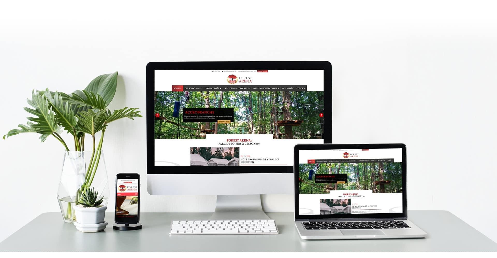 Site internet AZApp sur PC, tablette et portable